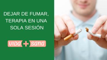 Dejar de fumar, terapia en una sola sesión
