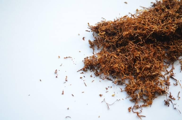tabaco suelto para cigarro